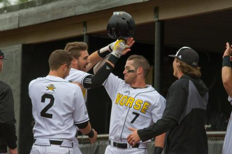 Ganns double in the ninth lifts Norse over Redhawks
