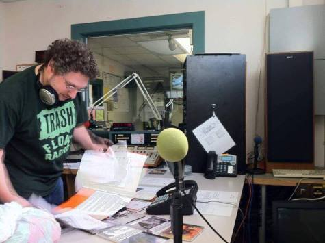 Going with the flow: NKU professor keeps college radio tradition alive on WAIF-FM