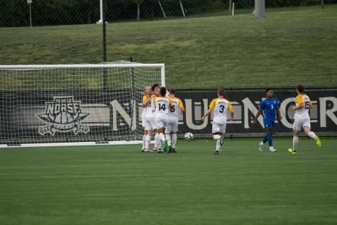 Men's soccer blanked; Will host Wright State in league quarterfinals