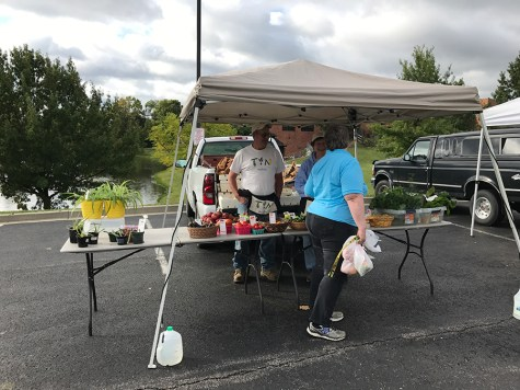 Highland Heights Farmer's Market, a stone's throw from NKU
