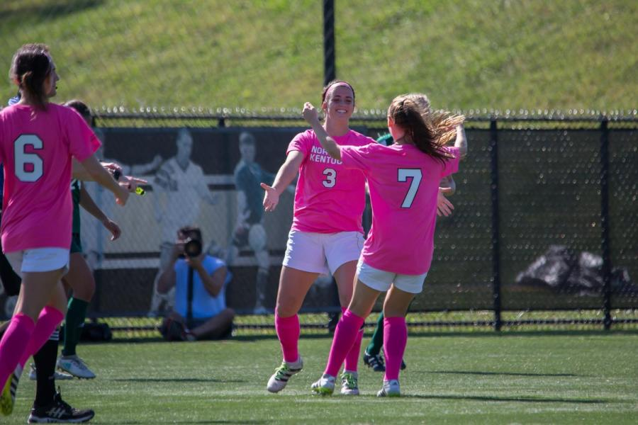 Three first half goals power NKU past Green Bay