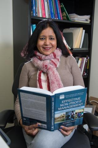 Professor aims for social change