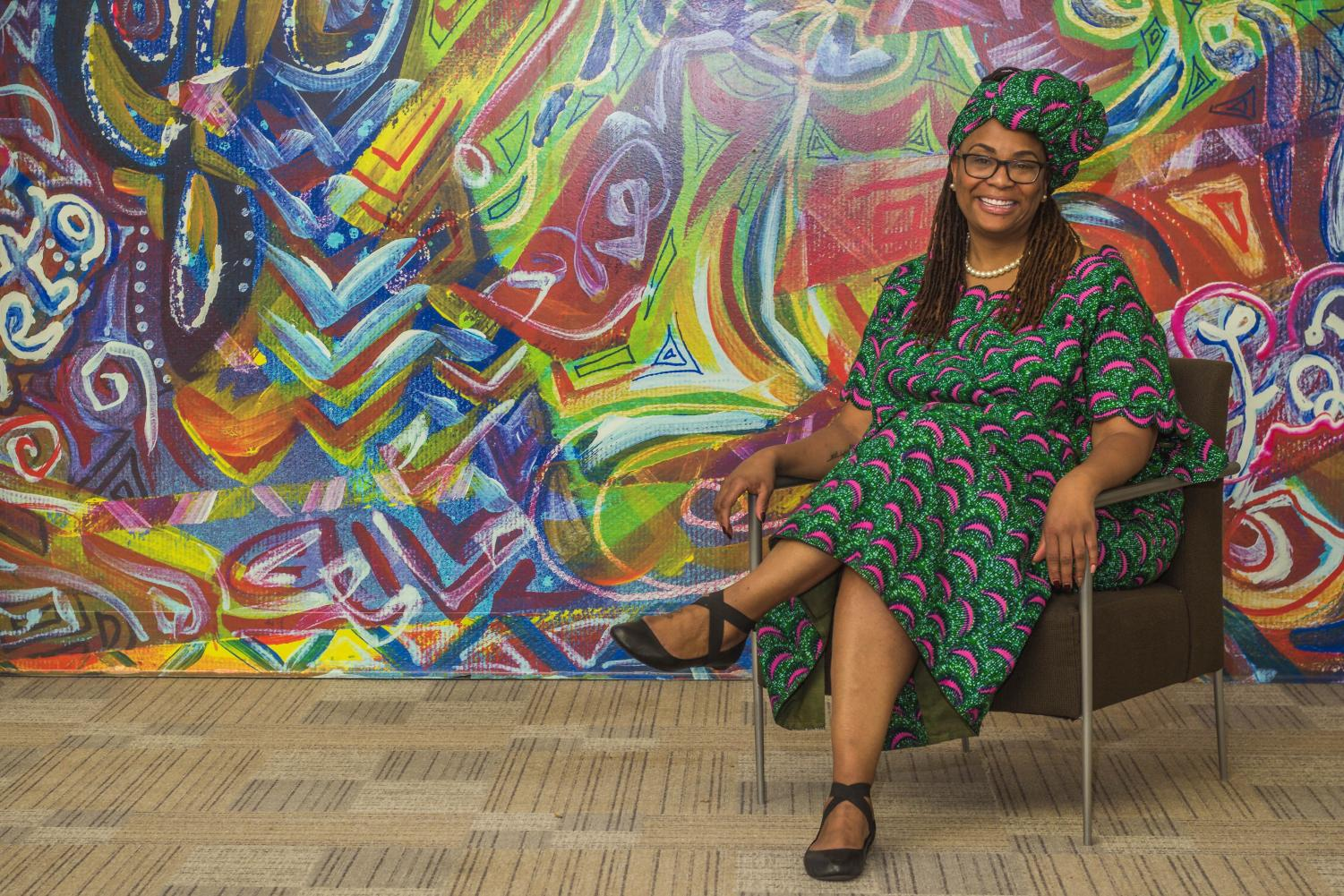Tracy Stokes, the director of African-American programs and services, is there to advise student not only in academia, but in their personal lives as well.
