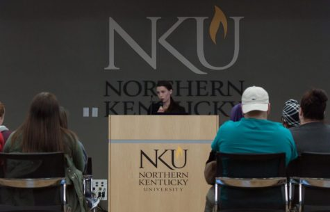 Speaker brings personal distracted driving story to NKU