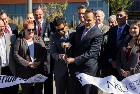 Health Innovation Center: Bevin, Vaidya cut ribbon at dedication