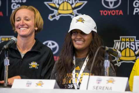 Women's softball team signs 12-year-old Destiny Owen through Team IMPACT