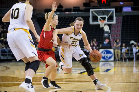 Norse get first Horizon League win in rout