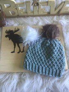 The Seed Stitch Knit Hat