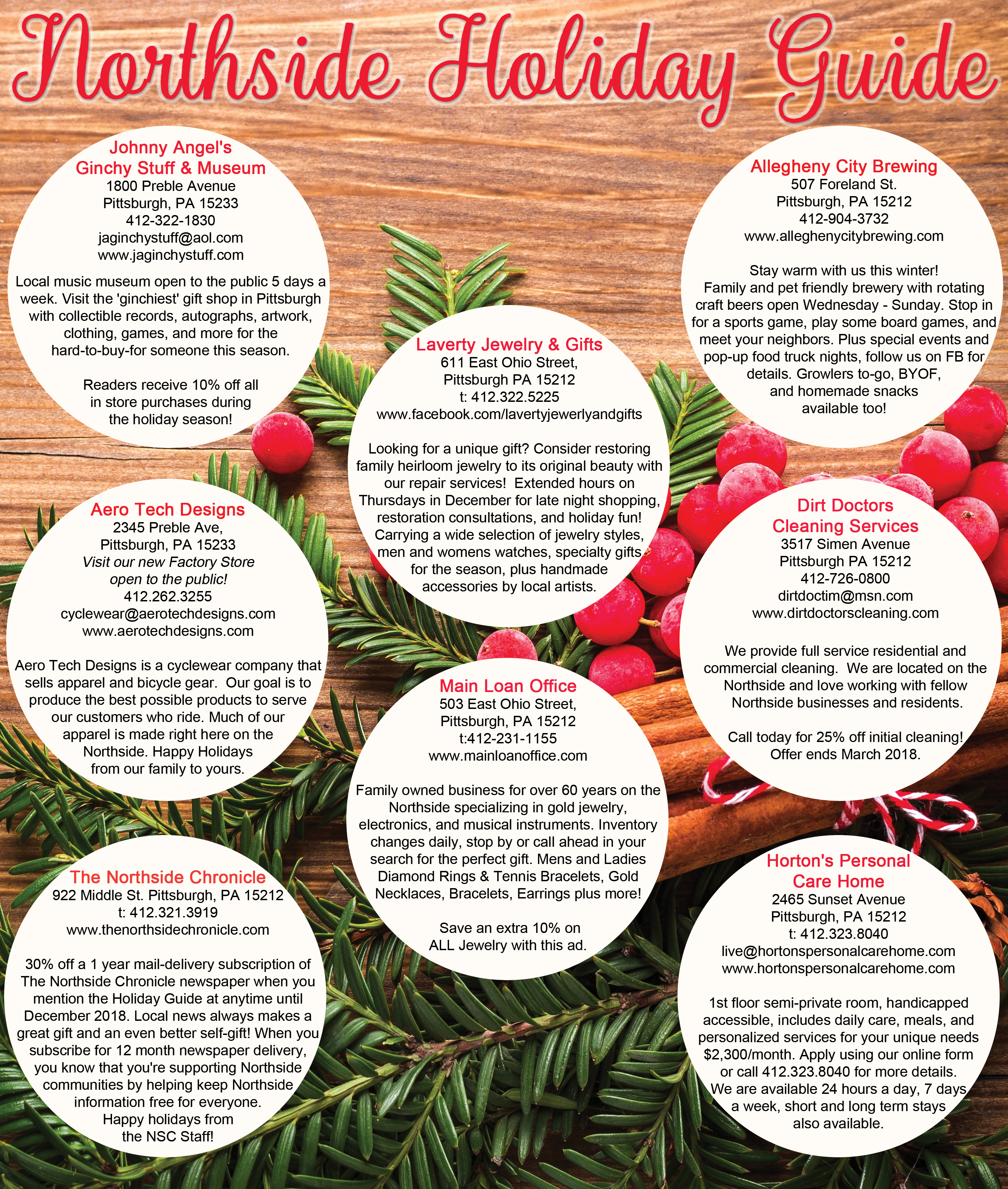 Holiday Guide | Northside Chronicle