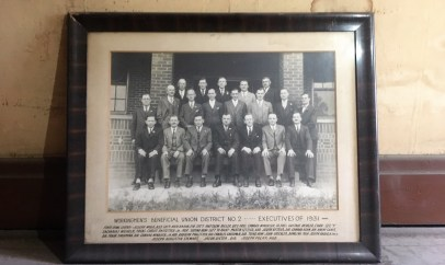 A photo of WBU members from 1931. Photo credit: Victoria Stevans