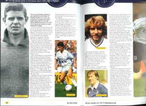 RSG celebrated in a Spurs' matchday programme