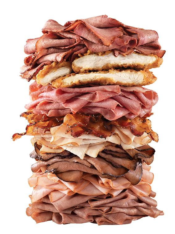Arby's Meat Mountain
