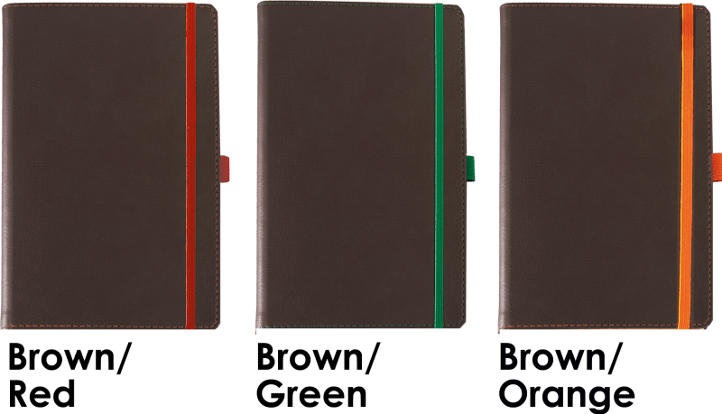 Colours Available for Phoenix Branded Notebooks from The Notebook Warehouse