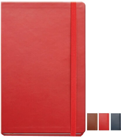Leather Notebooks Branded with your logo available from The Notebook Warehouse