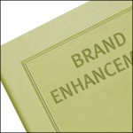 Image Showing Blind Embossing on Tucson Branded Notebooks