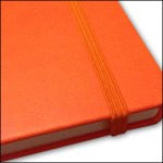 Image Showing Coordinating Elastic Strap for Branded Notebooks