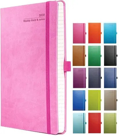 Image to show Tucson Ivory Custom Diary, part of the Company Branded Diary range available from The Notebook Warehouse