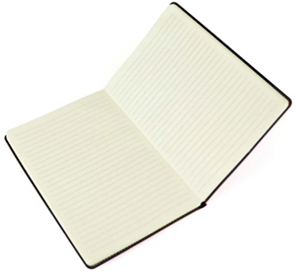 Interior Image of Stitch Edge Custom Notebook from The Notebook Warehouse