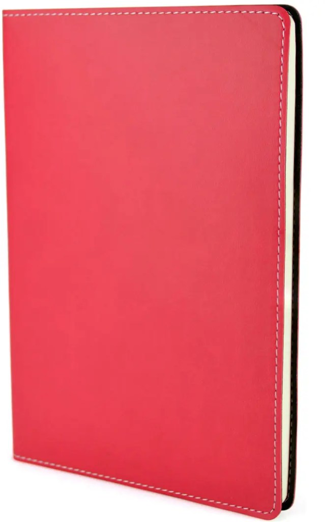 Product Image of Stitch Edge Flexible Branded Notebooks, in Red, from The Notebook Warehouse