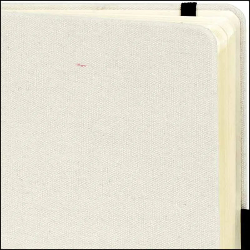 Image showing rounded corners on Downswood A5 Eco Branded Notebooks from The Notebook Warehouse