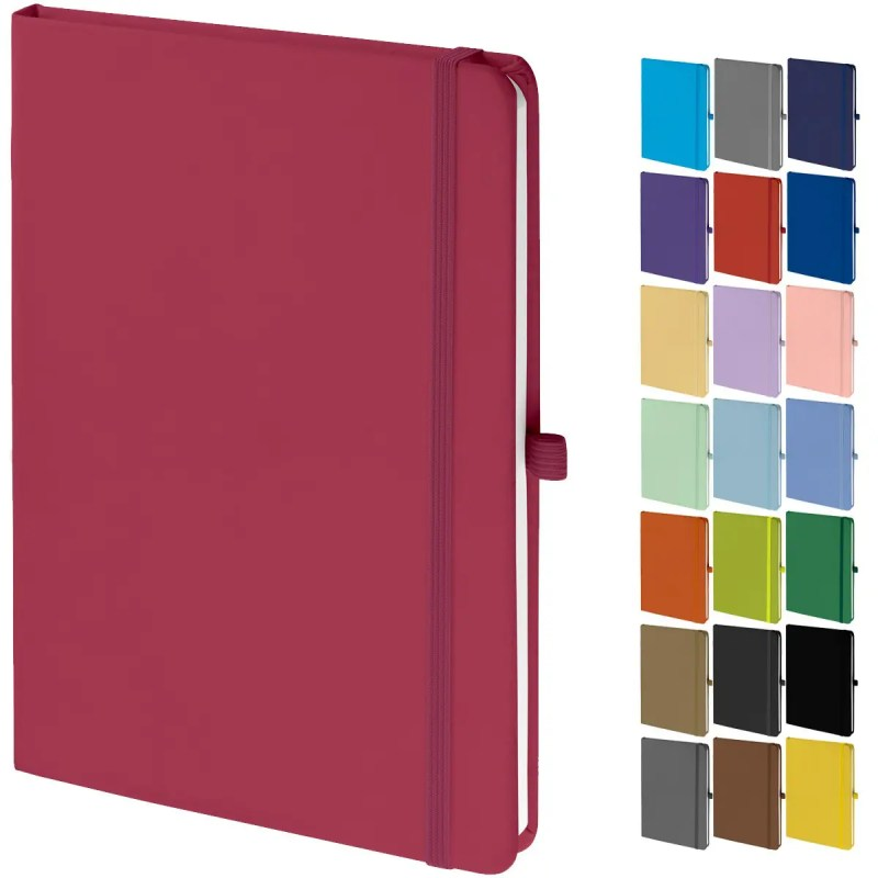Image Showing Mood Branded Notebooks Collection from The Notebook Warehouse in 23 Colours