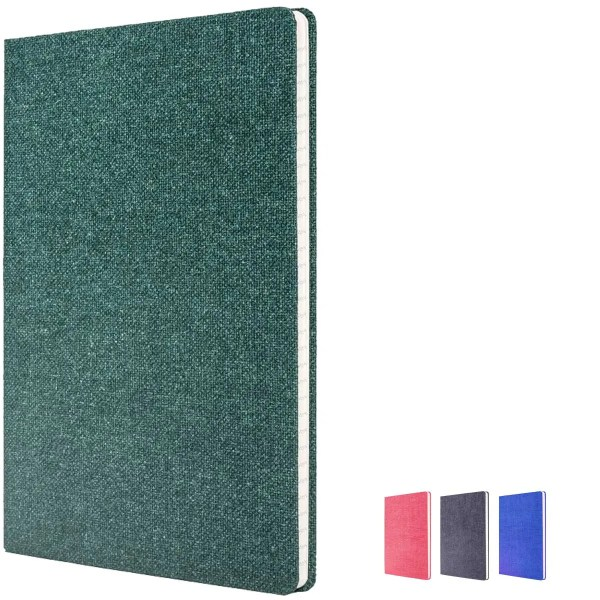 Image of colours for Nature eco friendly branded notebooks. 100% Recyclable Branded Notebooks.