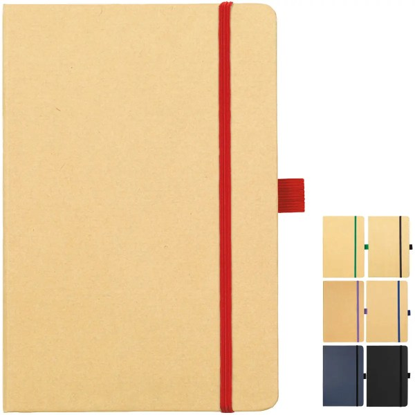 Image of Broadstairs Eco Branded Notebooks colours from The Notebook Warehouse.
