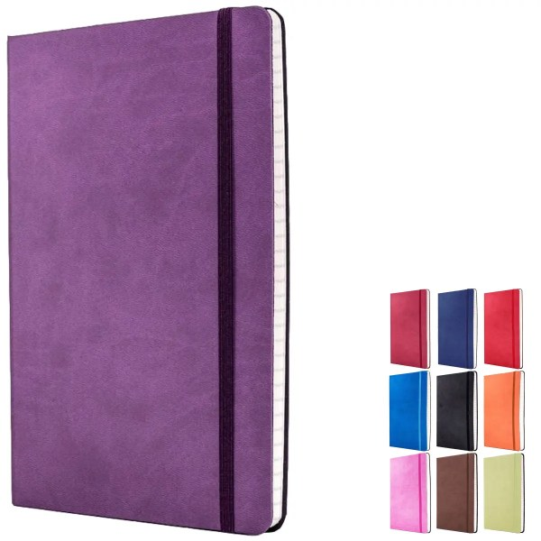 Image showing the colours available for Tucson Flexible Branded Notebooks from The Notebook Warehouse
