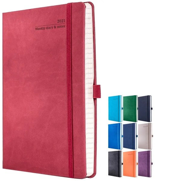 Image showing Tucson Branded Diaries from The Notebook Warehouse available in 10 Colours