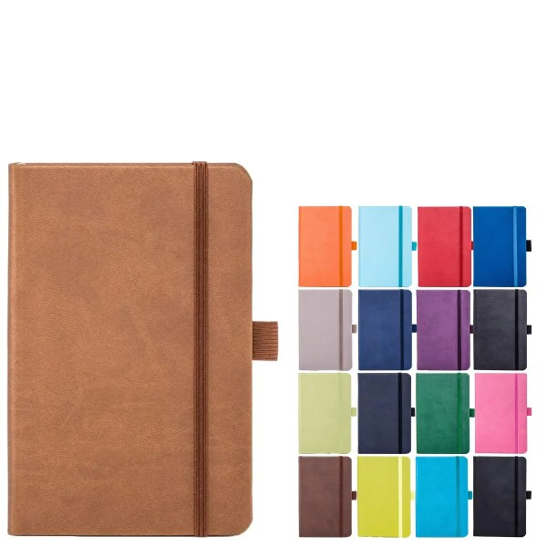 Tucson Pocket Branded Notebooks from The Notebook Warehouse available in 17 Colours