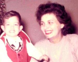 Ricky and Mom 1962