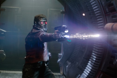 And poor Sheridan, though armed with space-age weapons, still can't catch a break, protecting himself from threats effectively. When magic and science collide, one can't realistically be as badass as, say, Star-Lord.