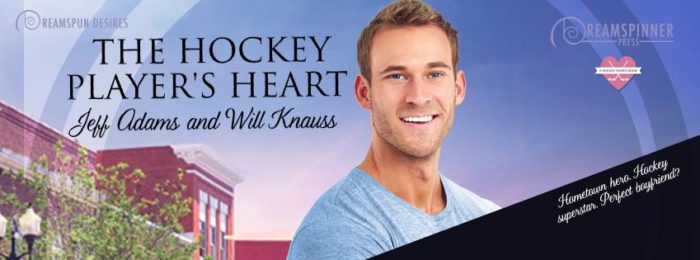 Guest post and giveaway the hockey players heart by jeff adams and im so pleased to have authors jeff adams and will knauss stopping by tna today to celebrate the release of their new collaboration the hockey players fandeluxe Image collections