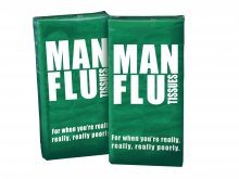 Man Flu Novelty Gifts Tissues