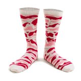 Novelty Bacon Gifts Socks