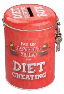 Novelty Diet Gifts Fine Tin