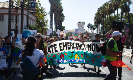 Nueva Students Walk Out for Climate Justice