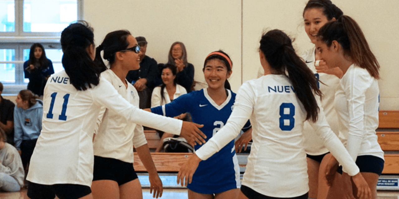 Varsity girls volleyball starts off undefeated