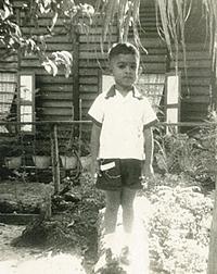 Dino, aged 6, Ujong Pasir, Malacca.