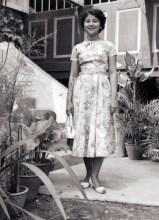 Faridah in the 1950s