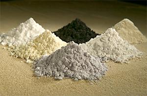 Rare earths (public domain   Wiki Commons)