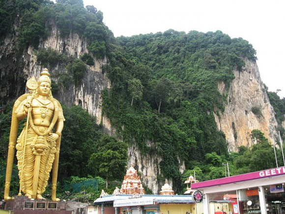 Batu Caves (Wiki commons)