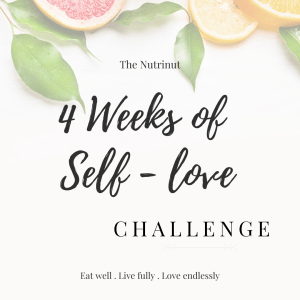 4 Weeks of Self Love Challenge