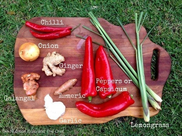 Curry paste recipe