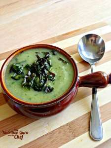 Cauliflower and Kale Soup