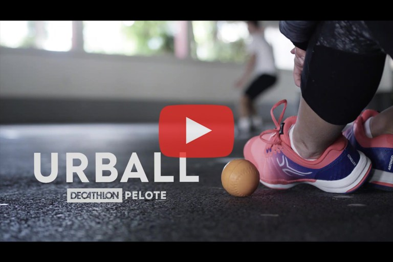 Urball – Decathlon Pelote : Présentation de la 'Street Pelote'