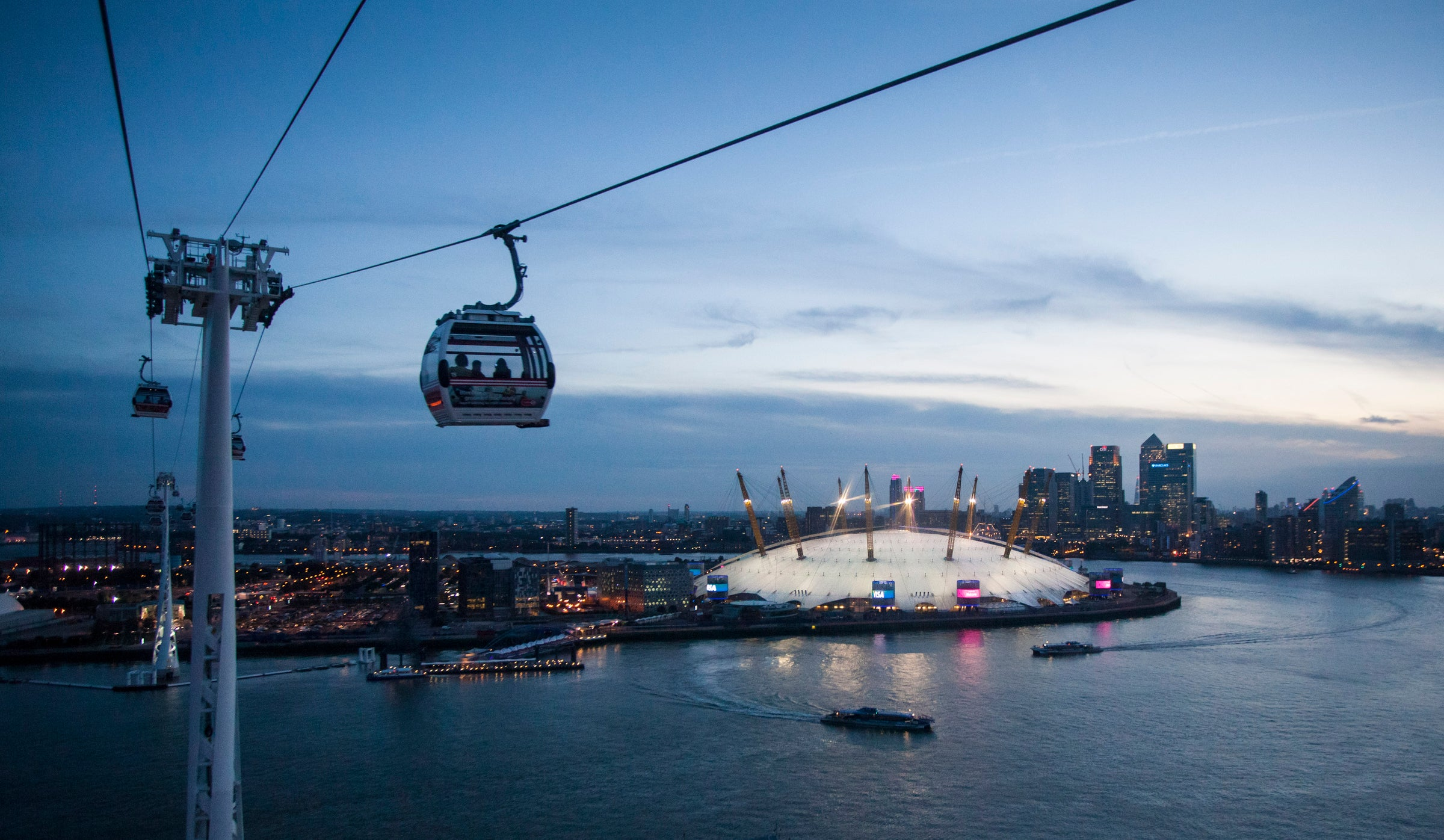 Cable Car Getting Here The O2