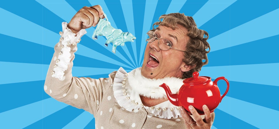 Mrs Brown Tickets Large
