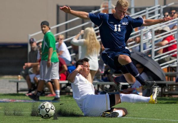 Men's Soccer lose 1-0 against Delta College Sept. 26 - The ...
