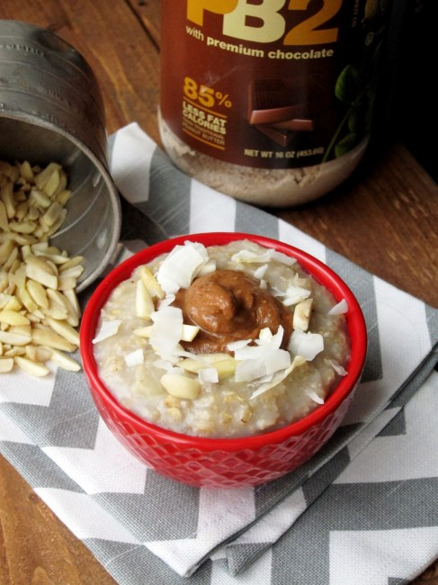 Almond Joy Oatmeal by The Oatmeal Artist